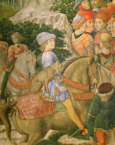 Adoration of the Angels and the three magi by Benozzo Gozzoli