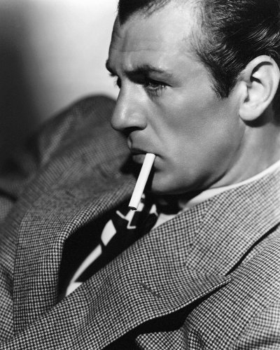 Gary Cooper by Clarence Sinclair Bull