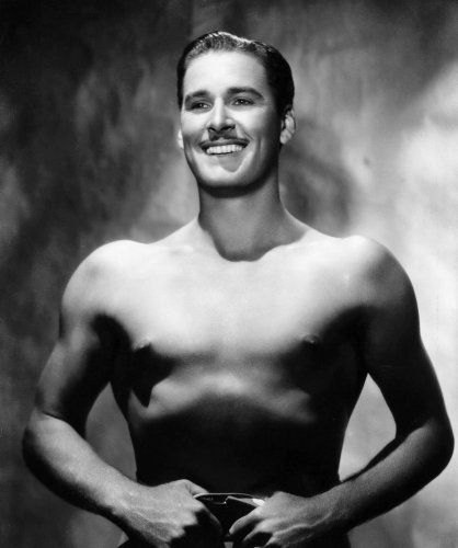 Errol Flynn by Anonymous