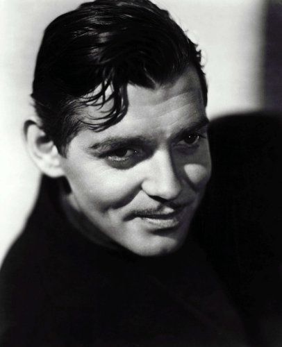 Clark Gable by Carl de Voy