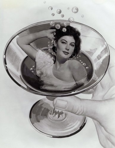 Ava Gardner by Anonymous