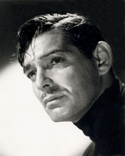 Clark Gable by Laszlo Willinger