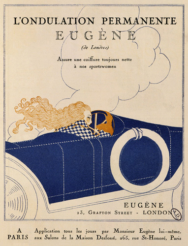 Eugène of London permanent wave by Anonymous