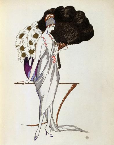 Evening dress La fleur dor by Anonymous