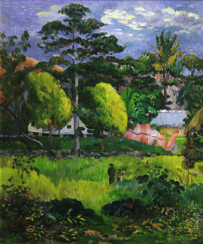 Paysage, Landscape 1901 by Paul Gauguin