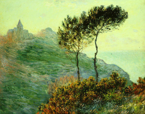 Church at Varengeville by Claude Monet