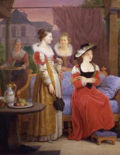 Group of Women, 1826 by Ferdinand de Braekeleer