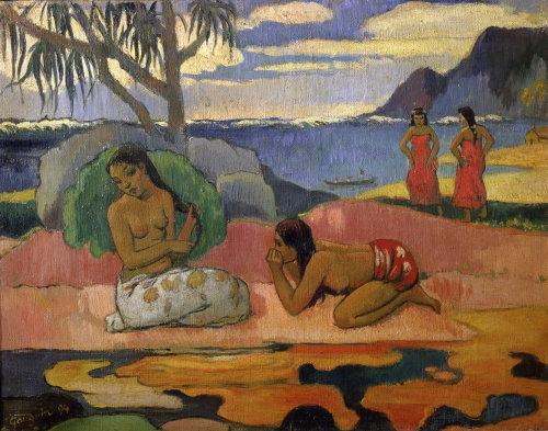 Scene in Dominica 1894 by Paul Gauguin