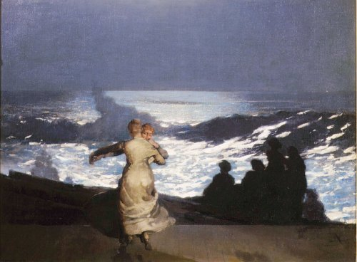 Summer Night, 1890 by Carl Hermann Kuechler