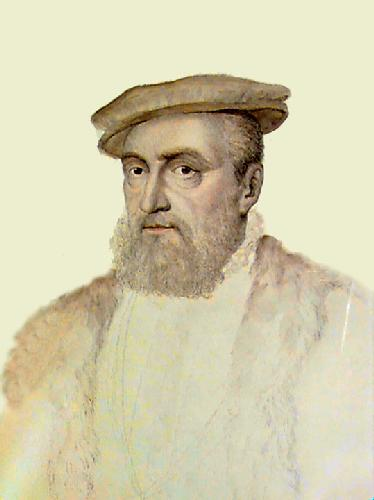 Anne of Monty (Restrike Etching) by Francois Janet