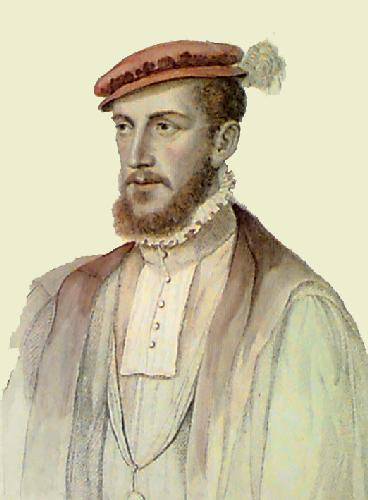 Gaspard of Cy (Restrike Etching) by Francois Janet