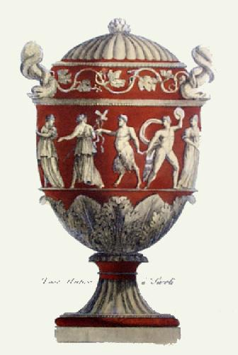Vases  Pl. VII (Tcotta) (Restrike Etching) by Anonymous