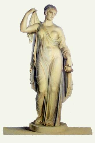 Marble Statue - Pl. LIV (Restrike Etching) by Henry Howard