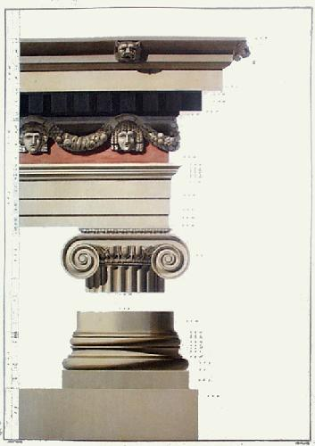 Column - Chap.II Pl.VI (Restrike Etching) by Gandy