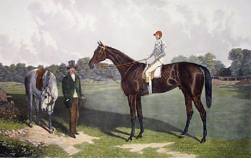 Voltigeur (Restrike Etching) by William Henry Davis