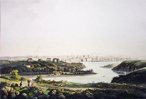 City of Aberdeen (Restrike Etching) by IH Clark