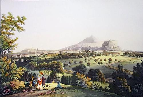 City of Edinburgh (Restrike Etching) by IH Clark