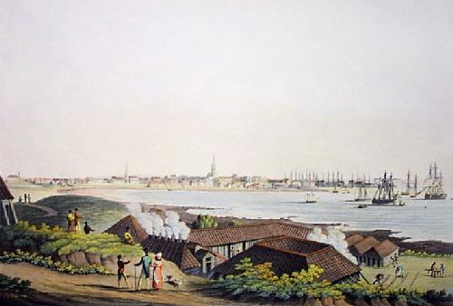 Peterhead, Town of (Restrike Etching) by IH Clark