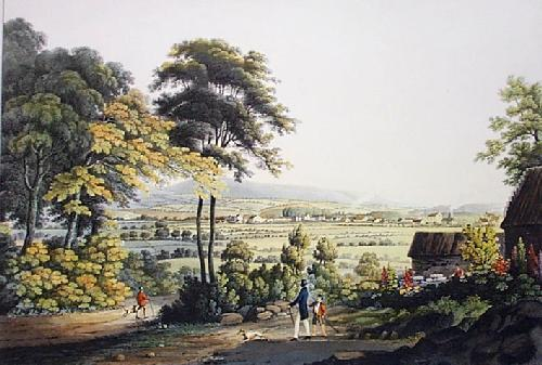Town of Renfrew (Restrike Etching) by IH Clark