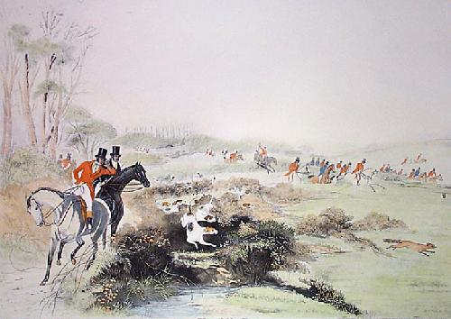 Tipperary Melody (Restrike Etching) by Francis Calcraft Turner