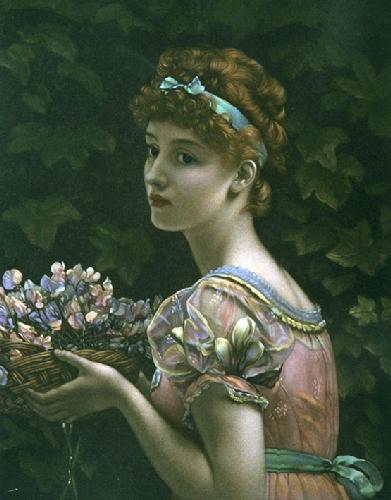 Pea Blossom (Restrike Etching) by Anonymous