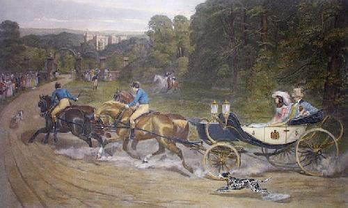Home from the Honeymoon (Restrike Etching) by Samuel Edmund Waller