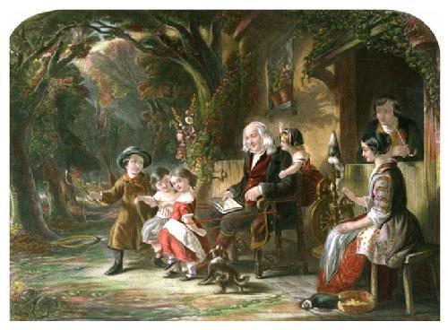 Age & Infancy (Restrike Etching) by John Fitz Marshall