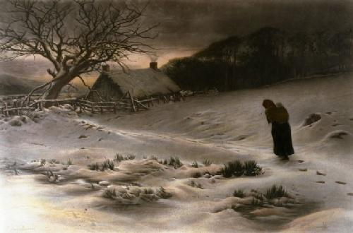 Winter (Restrike Etching) by Joseph Farquharson