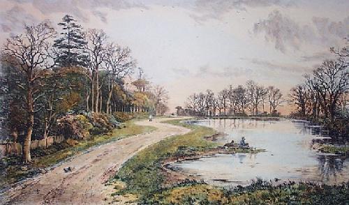 Totteridge (Restrike Etching) by Frederick Albert Slocombe