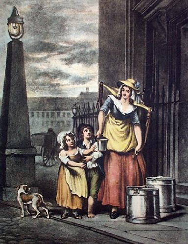Milk (Restrike Etching) by Francis Wheatley