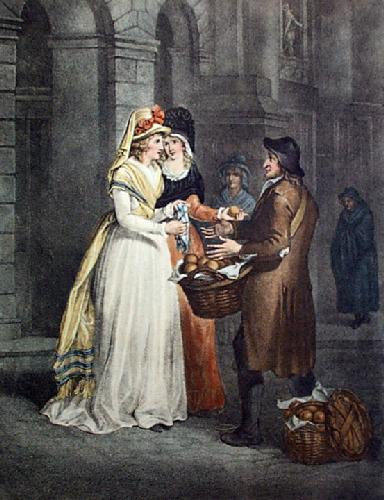 Oranges (Restrike Etching) by Francis Wheatley