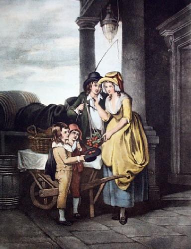 Cherries (Restrike Etching) by Francis Wheatley