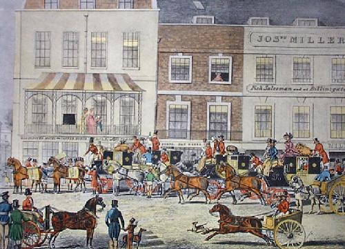 West Country Mails (Restrike Etching) by James Pollard
