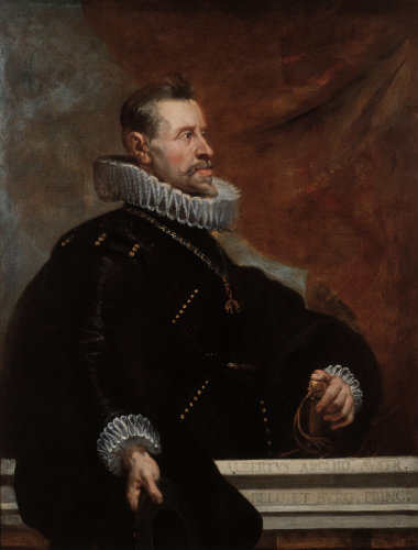 Albrecht VII of Austria by Peter Paul Rubens