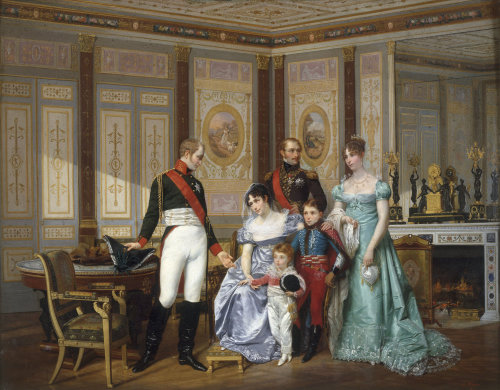 Empress Josephine and Tsar Alexander by Jean Louis Victor Viger du Vigneau