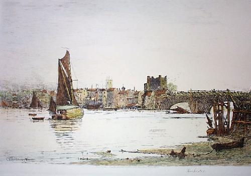 Rochester (Restrike Etching) by Charles Edward Holloway