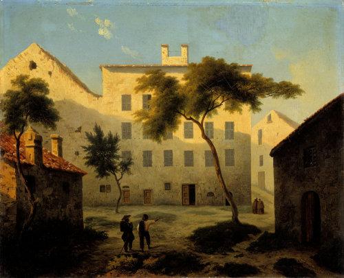Napoleon's birthplace by Alexis Daligé de Fontenay