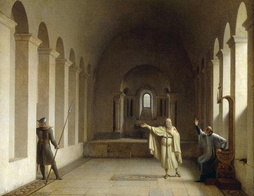 Jacques Bernard de Molay by Fleury Francois Richard