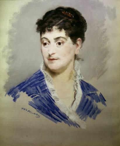 Mme Emile Zola by Edouard Manet