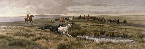 White Wins (Restrike Etching) by Edwin Douglas