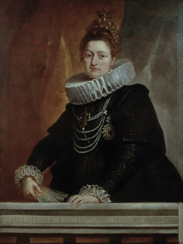 Infante Isabella Clara Eugenia by Peter Paul Rubens