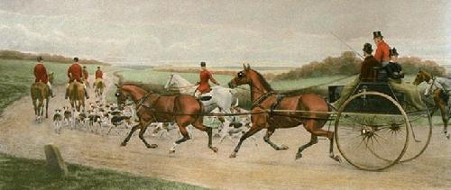 Ten Miles from Kennel (Restrike Etching) by Edwin Douglas