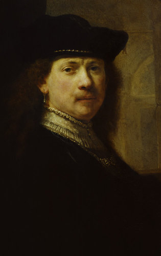 Portrait of Rembrandt by Rembrandt