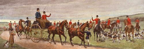 Roadside Meet (Restrike Etching) by Edwin Douglas