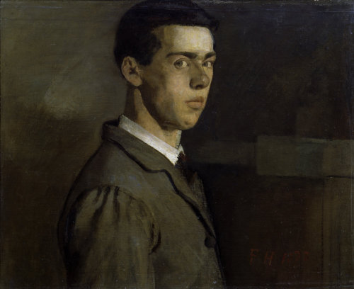 Self-portrait (I) by Ferdinand Hodler