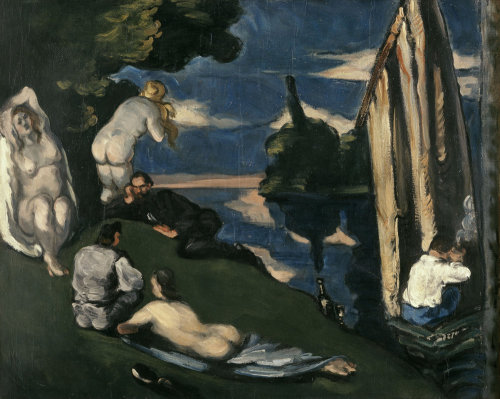 Pastoral by Paul Cezanne