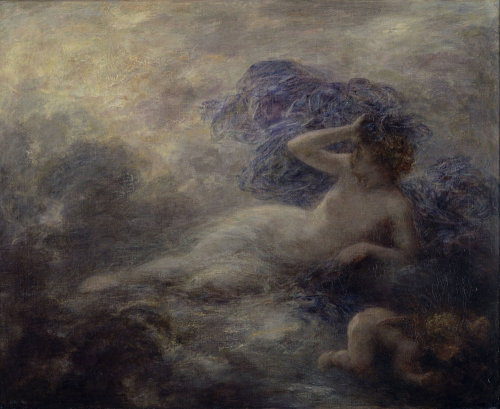 Night by Ignace-Henri-Théodore Fantin-Latour