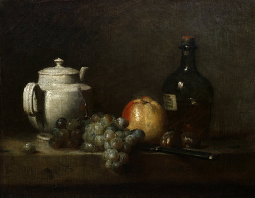 Still-life by Jean Baptiste Chardin