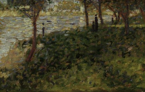Study for La Grande Jatte by Georges Seurat