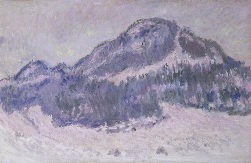 Mount Kolsaas in Norway by Claude Monet